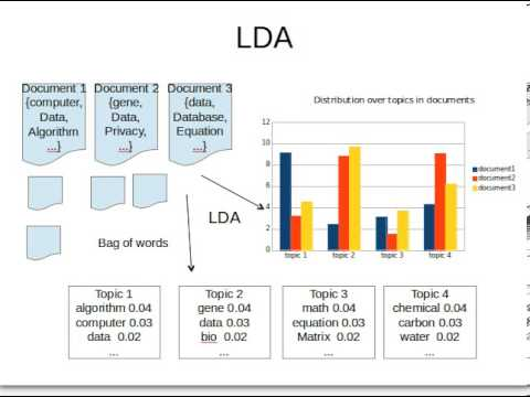 A Non-Technical Introduction to LDA Topic Models with an Application